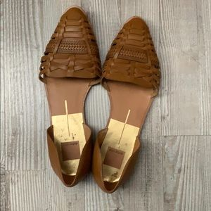 Dolce Vita Braided Pointed Toe Flats